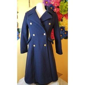 VTG 1960s Rothschild Navy Pea Coat- 12